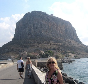 Jeana in Monemvasia, Greece